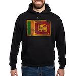 Sri Lanka Flag Hoodie (dark)