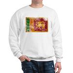 Sri Lanka Flag Sweatshirt