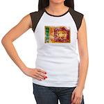 Sri Lanka Flag Women's Cap Sleeve T-Shirt
