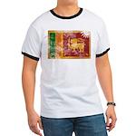 Sri Lanka Flag Ringer T