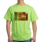 Sri Lanka Flag Green T-Shirt