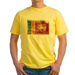 Sri Lanka Flag Yellow T-Shirt