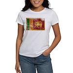 Sri Lanka Flag Women's T-Shirt