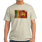 Sri Lanka Flag Light T-Shirt