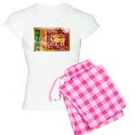 Sri Lanka Flag Women's Light Pajamas