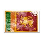 Sri Lanka Flag Car Magnet 20 x 12
