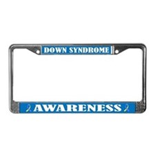 Down Syndrome Awareness License Frame