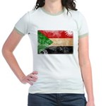 Sudan Flag Jr. Ringer T-Shirt