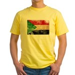 Sudan Flag Yellow T-Shirt