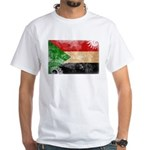 Sudan Flag White T-Shirt