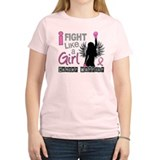 Cute Breast cancer boxing gloves T-Shirt
