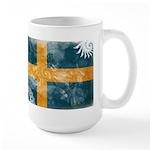 Sweden Flag Large Mug