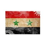 Syria Flag Rectangle Magnet