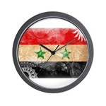 Syria Flag Wall Clock
