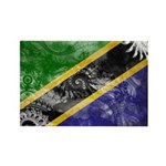 Tanzania Flag Rectangle Magnet