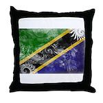 Tanzania Flag Throw Pillow