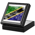 Tanzania Flag Keepsake Box