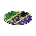Tanzania Flag Patches