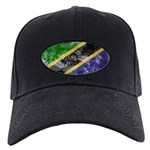 Tanzania Flag Black Cap