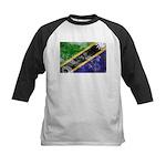Tanzania Flag Kids Baseball Jersey