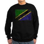 Tanzania Flag Sweatshirt (dark)
