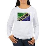 Tanzania Flag Women's Long Sleeve T-Shirt