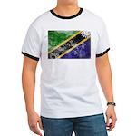 Tanzania Flag Ringer T