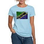 Tanzania Flag Women's Light T-Shirt