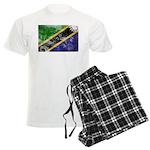 Tanzania Flag Men's Light Pajamas