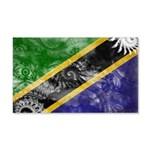 Tanzania Flag 22x14 Wall Peel