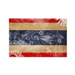 Thailand Flag Rectangle Magnet (100 pack)