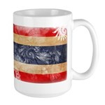 Thailand Flag Large Mug