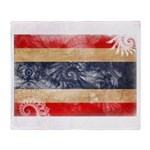 Thailand Flag Throw Blanket