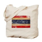 Thailand Flag Tote Bag