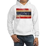 Thailand Flag Hooded Sweatshirt