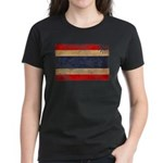 Thailand Flag Women's Dark T-Shirt