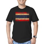 Thailand Flag Men's Fitted T-Shirt (dark)