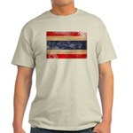 Thailand Flag Light T-Shirt