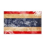 Thailand Flag 22x14 Wall Peel