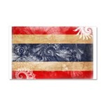 Thailand Flag Car Magnet 20 x 12