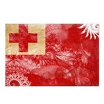 Tonga Flag Postcards (Package of 8)