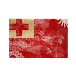 Tonga Flag Rectangle Magnet (10 pack)