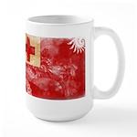 Tonga Flag Large Mug
