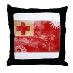 Tonga Flag Throw Pillow