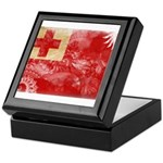 Tonga Flag Keepsake Box