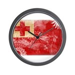 Tonga Flag Wall Clock