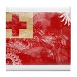 Tonga Flag Tile Coaster