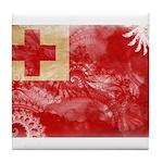 Tonga Flag Tile Coaster