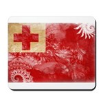 Tonga Flag Mousepad