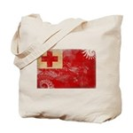 Tonga Flag Tote Bag